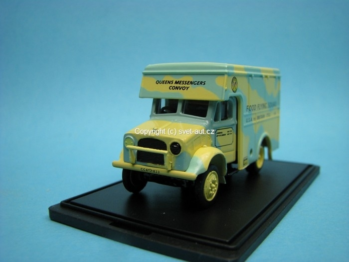 Bedford OX 30cwt Van Food Flying Squad 1:76 oxford