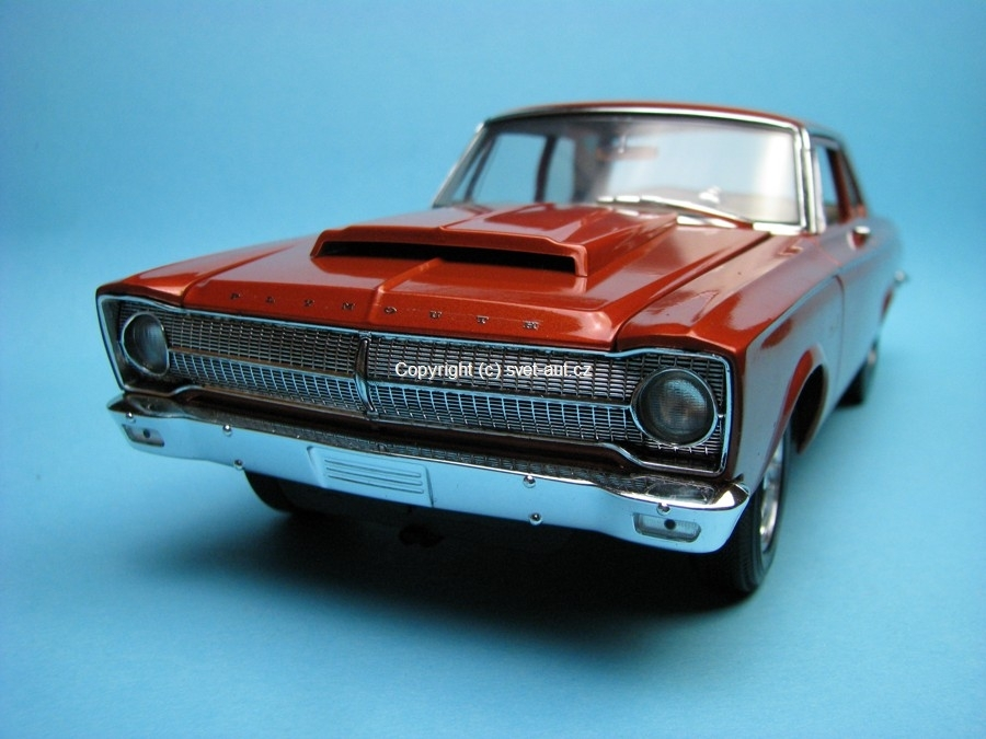 Plymouth Belvedere 1965 orange Highway 61 1:18 Ertl
