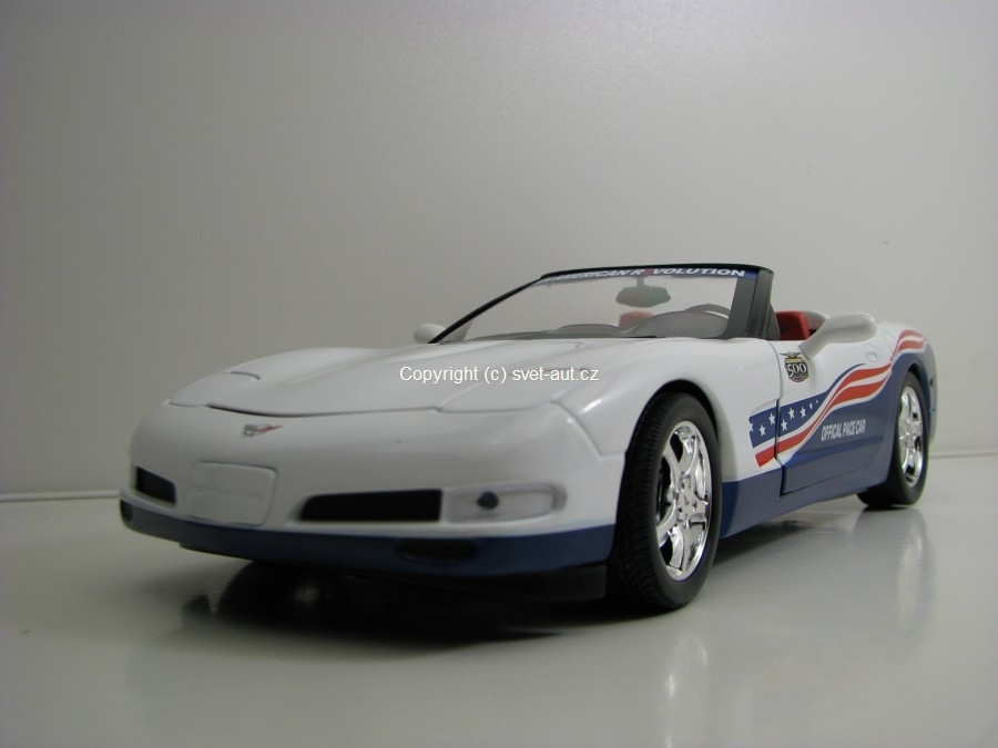 Chevrolet Corvette Indy 500 Pace Car 2004 1:18 Ertl - Auto World