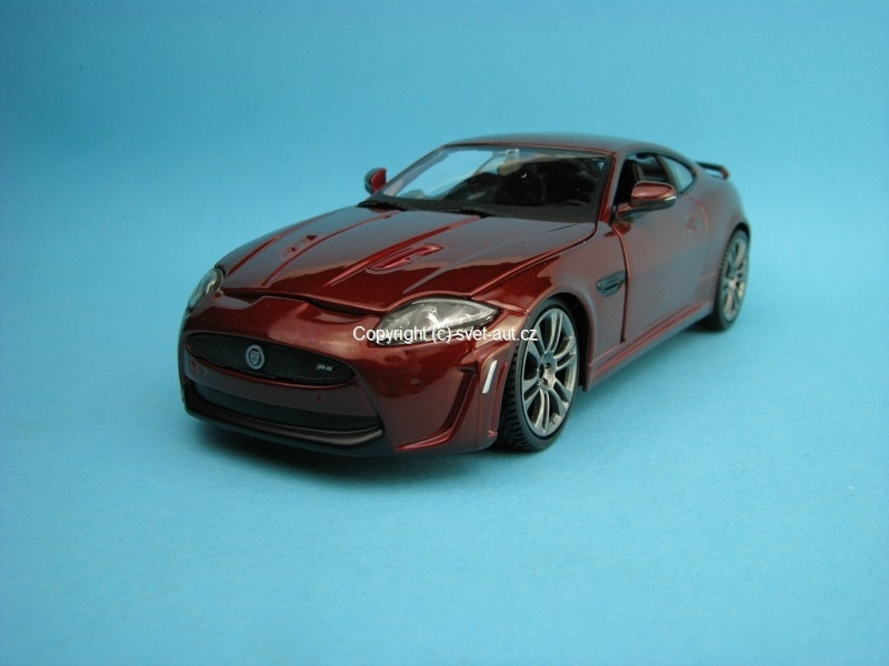 Jaguar XKR-S brown 1:24 Bburago