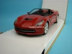 Chevrolet Corvette Stingray Convertible 2014 brown 1:24 Maisto