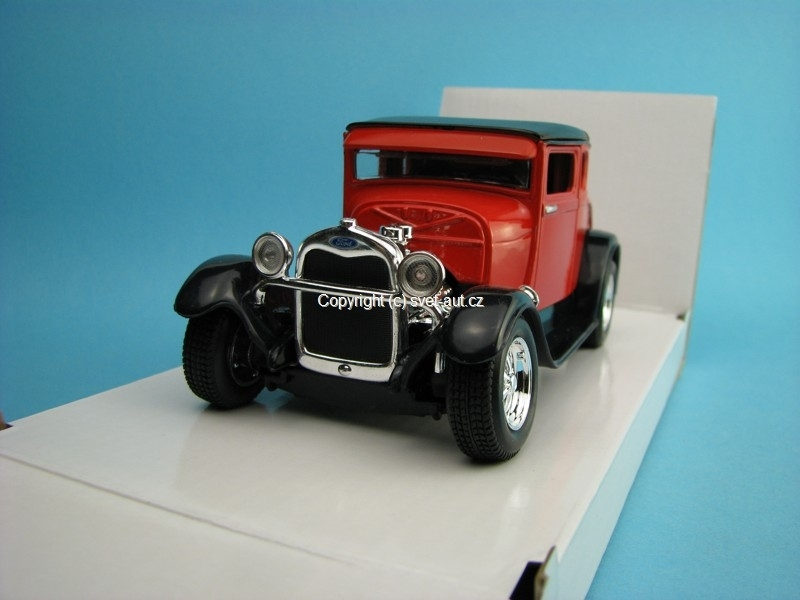 Ford Model A 1929 red 1:24 Maisto