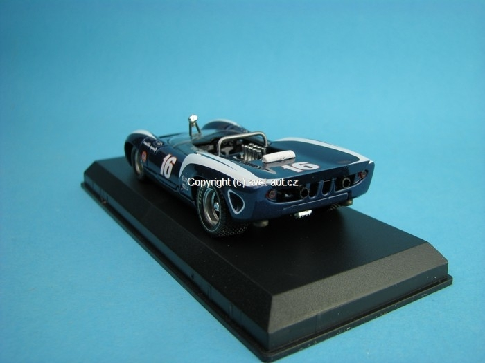 Lola T70 Spyder No.16 Riverside 1967 Follmer 1:43 Best