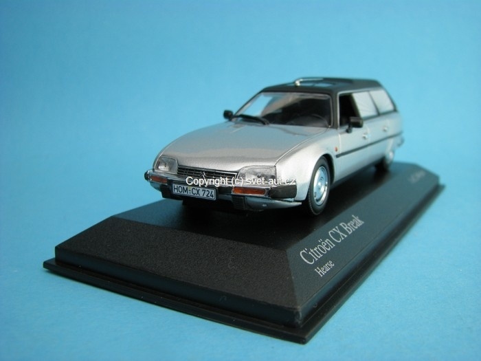 Citroen CX Break 1980 Hearse 1:43 Minichamps