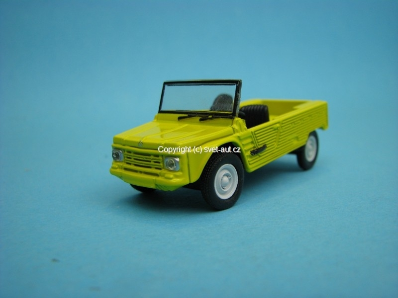 Citroen Mehari yellow 1:54 Norev Retro