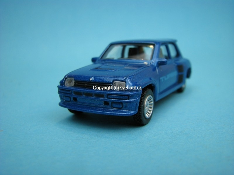 Renault 5 Turbo blue 1:54 Norev Retro