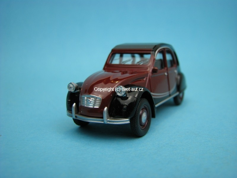 Citroen 2CV Charleston 1:54 Norev Retro