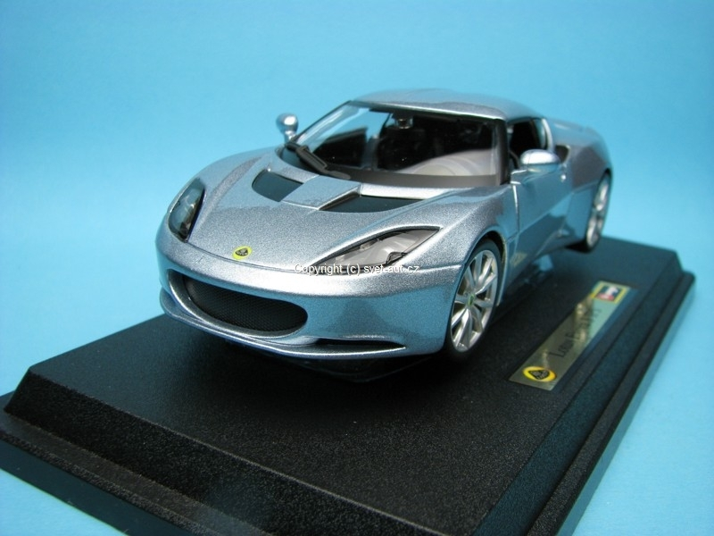 Lotus Evora S IPS silver blue metallic 1:24 Bburago