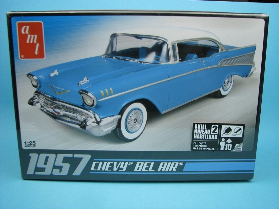 Chevrolet Bel Air 1957 Kit 1:25 Ertl - AMT