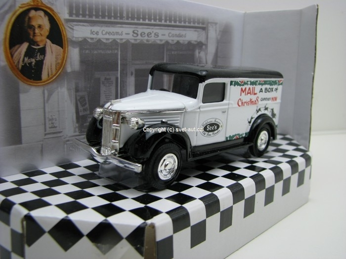 GMC 1937 Mail a Box of Christmas cukrárna Sees Matchbox Collectibles