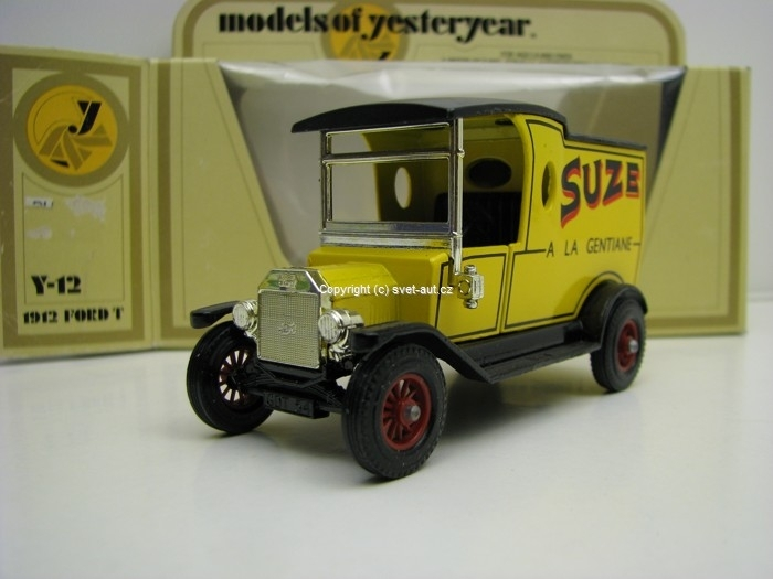 Ford Model T 1912 Suze a La Gentiane Matchbox Yesteryear