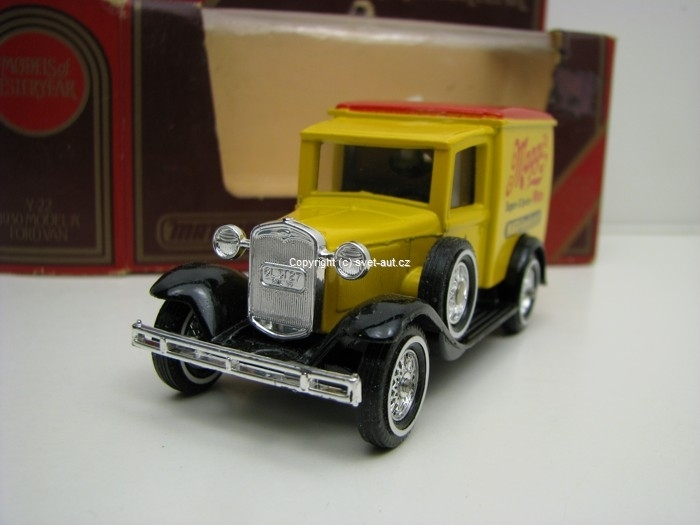 Ford Van A 1930 Maggis Matchbox Yesteryear
