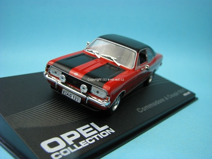 Opel Commodore A Coupé GS/E 1970-1971 1:43 Ixo Altaya