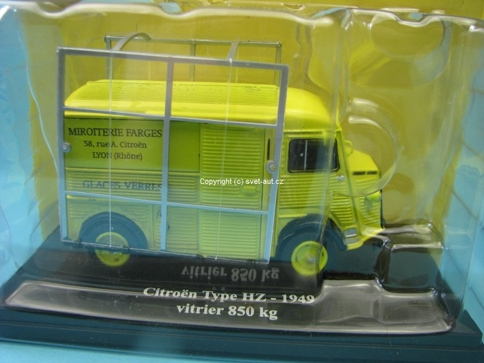Citroen Type HZ 1949 vitrier 850 Kg 1:43 Eligor