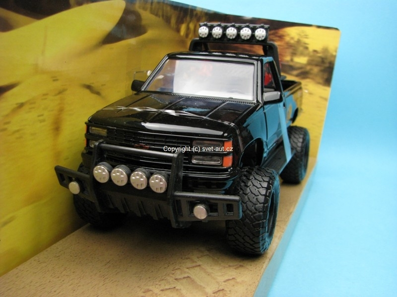 Chevrolet 454 SS PickUp 1992 black 1:24 Motor Max