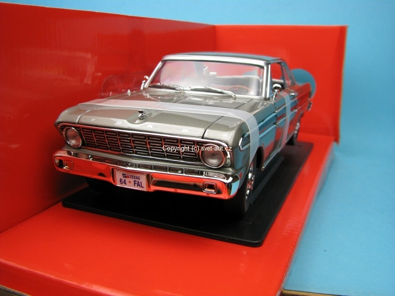 Ford Falcon 1964 grey 1:18 Yat Ming
