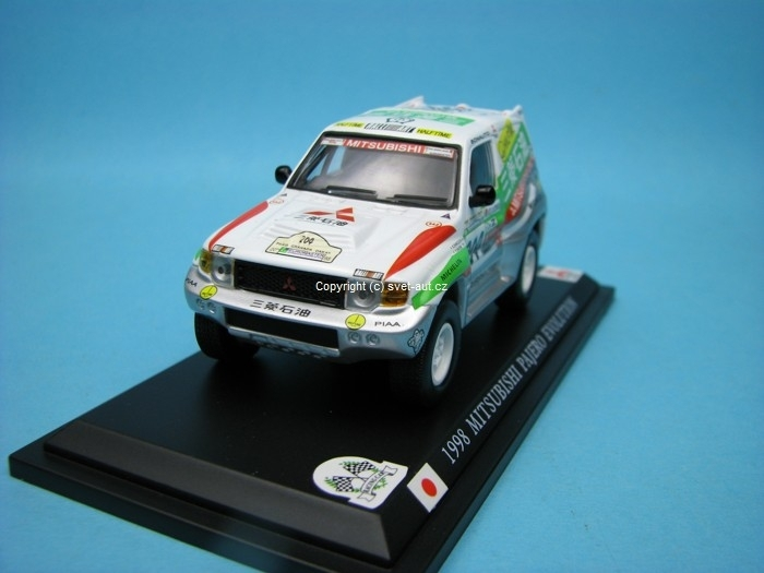 Mitsubishi Pajero Evolution No.204 Paris - Dakar 1998 1:43 Del Prado