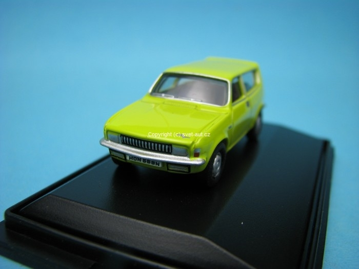Austin Allegro Estate citron yellow 1:76 Oxford