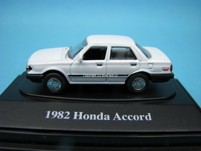 Honda Accord Sedan 1982 white 1:87 Motor Max