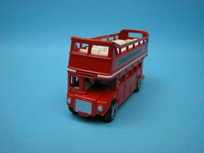 London Bus Doubledecker open 9 cm Motor Max