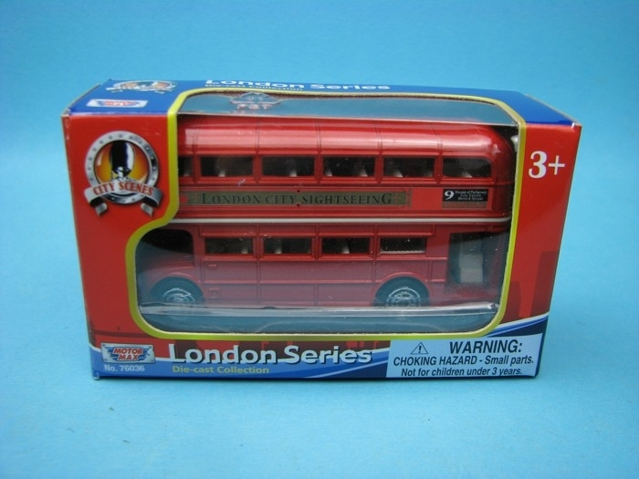 London Bus Doubledecker 9 cm Motor Max