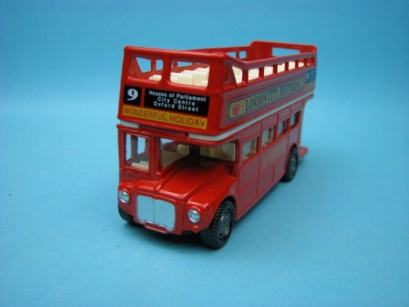 London Bus Doubledecker open 12 cm Motor Max
