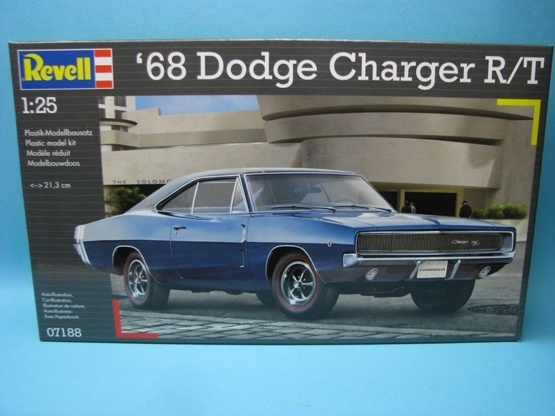 Dodge Charger R/T 1968 1:24 Revell