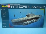 German Submarine Type XXVII B Seehund 1:72 Revell