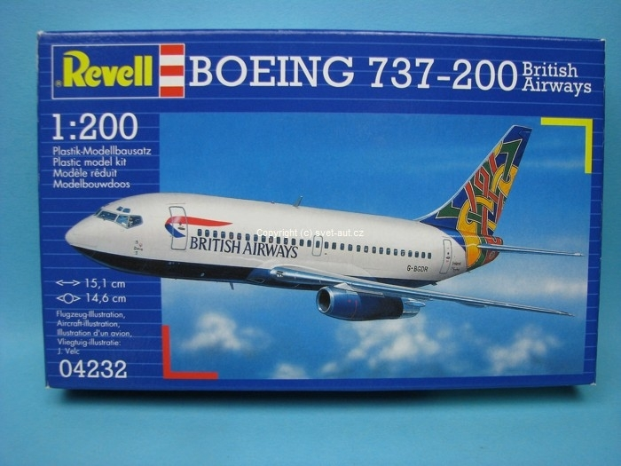 Boeing 737-200 British Airways 1:200 Revell