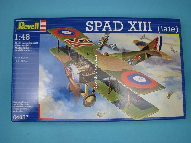 Spad XIII late 1:48 Revell
