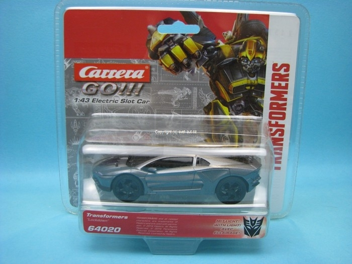 Transformers Lockdown 1:43 k autodráze Carrera Go!!!