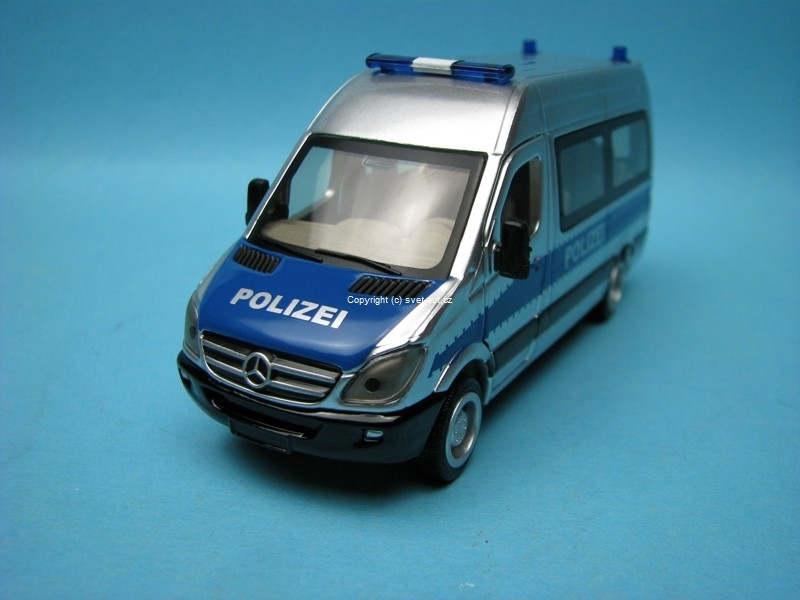 Mercedes Sprinter Polizei 1:50 Siku Super 2313