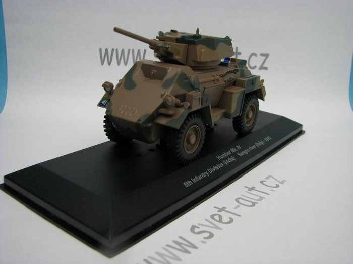 Humber Mk.IV 8th Infantry Division India Sangro river Italy 1943 1:43 Atlas