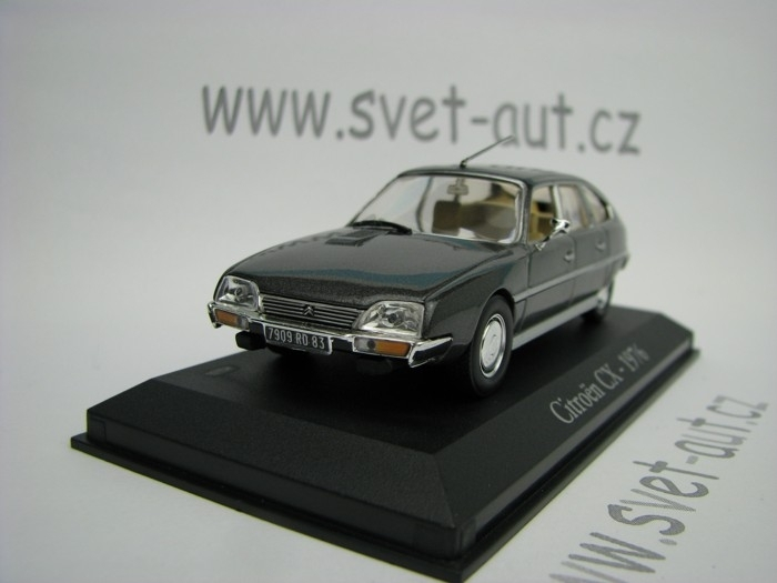 Citroen CX 1976 grey 1:43 Atlas