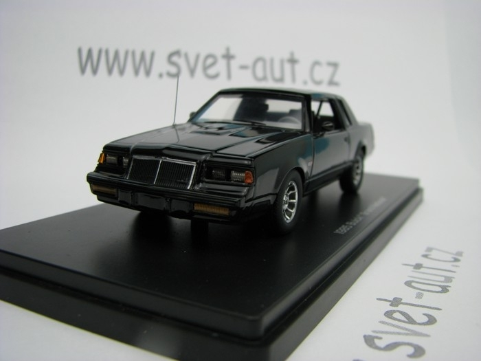 Buick Grand Natinal 1985 Black 1:43 Ertl - Auto World