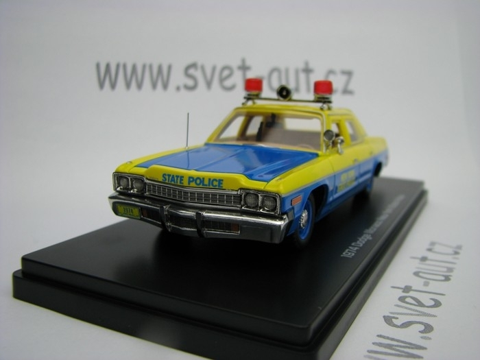 Dodge Monaco 1974 New York State Police 1:43 Ertl - Auto World