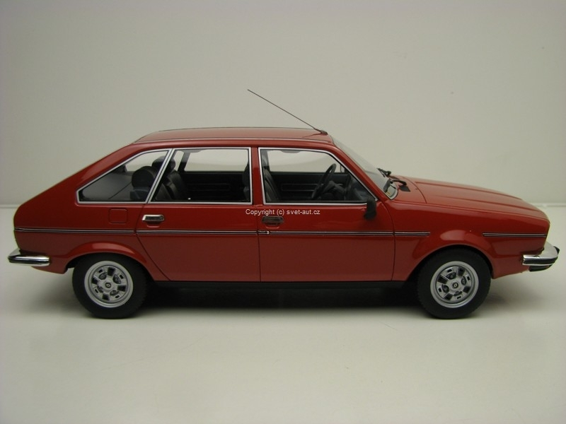 Renault 20 TX Red 1975 1:18 Ottomobile