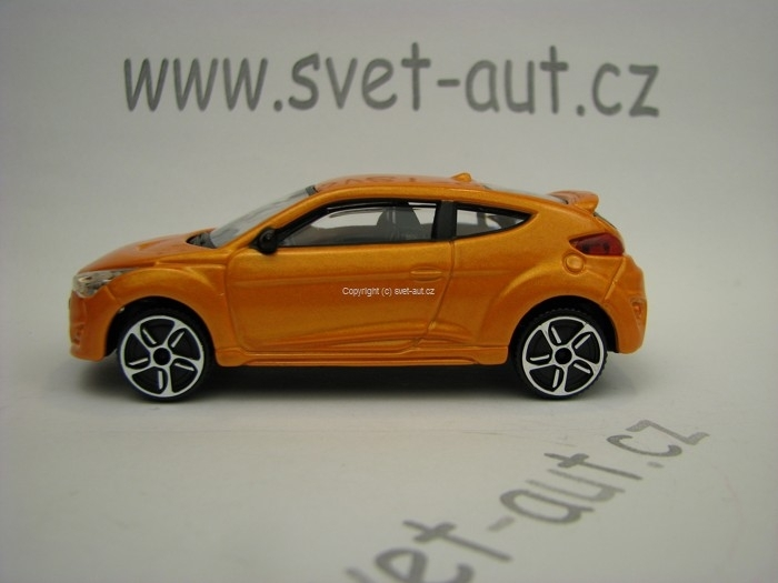 Hyundai Veloster Orange 1:43 Bburago