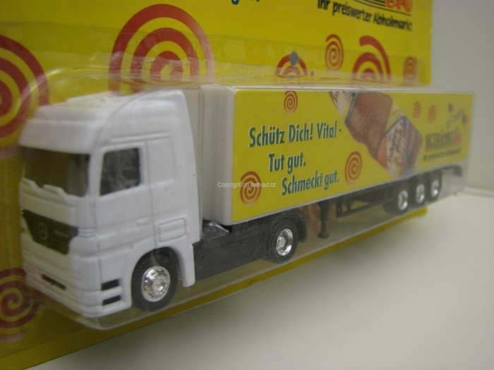 Mercedes Actros Getranke Land 1:87 Grell