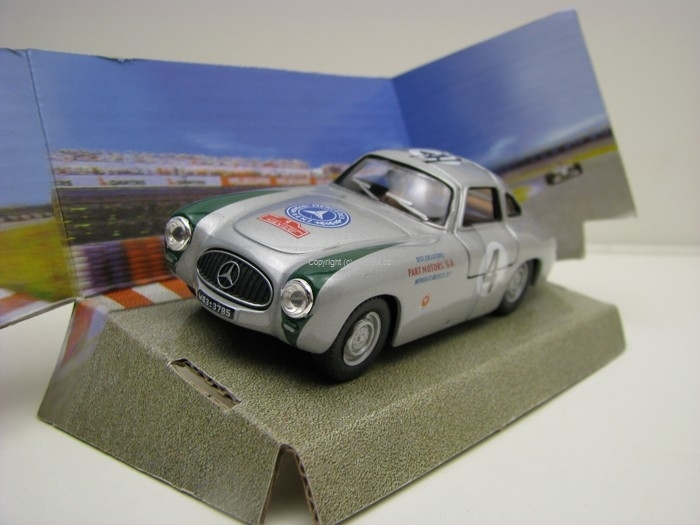 Mercedes-Benz 300SL Prototype No.4 Rally Mexico 1:43 Cararama