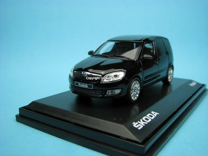 Škoda Praktik black magic 1:43 Abrex