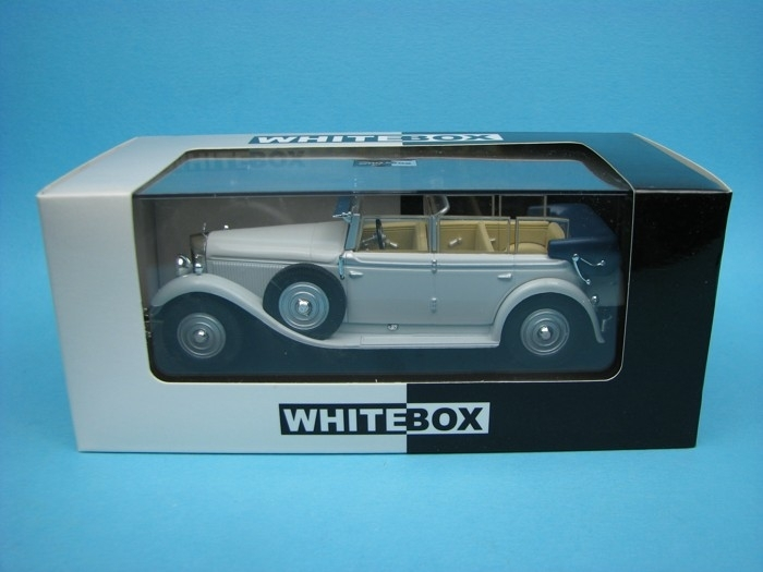 Mercedes-Benz Typ 770 Cabriolet F 1930 grey 1:43 White Box