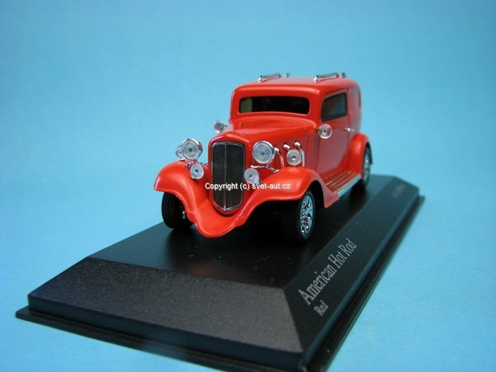 Ford American Hot Rod red 1:43 Minichamps