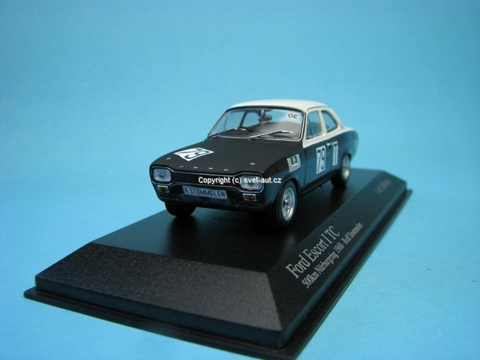 Ford Escort I TC No.79 Stommelen 500 Km Nurburgring 1968 1:43 Minichamps