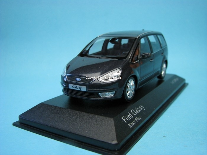 Ford Galaxy 2006 blazer blue 1:43 Minichamps
