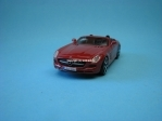 Mercedes-Benz SLS AMG Roadster purple 1:43 Bburago