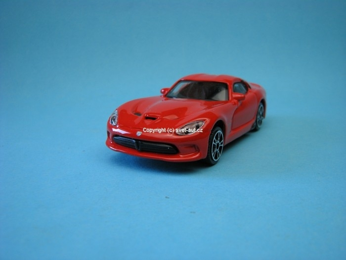 Dodge Viper SRT GTS 2013 red 1:43 Bburago