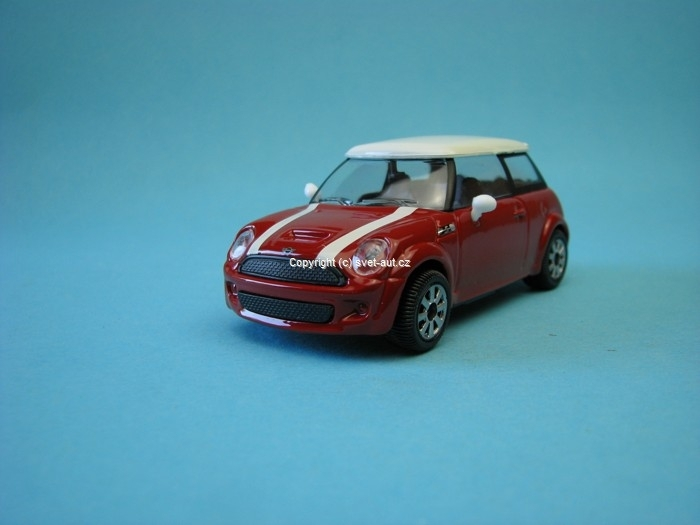 Mini Cooper S red 1:43 Bburago