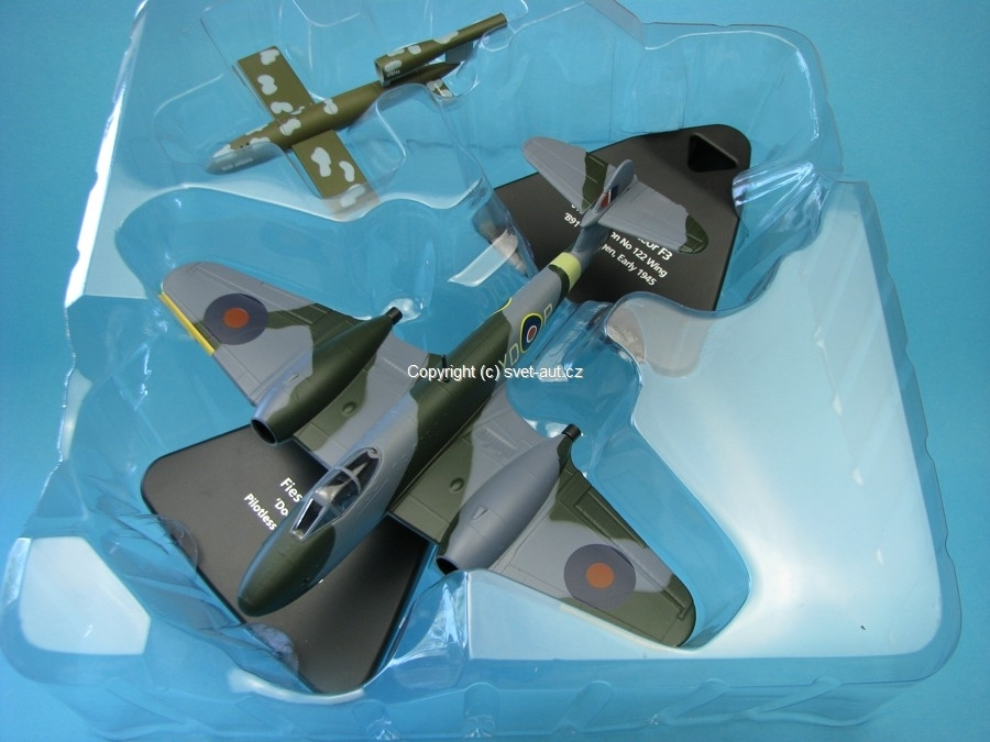 Fiesler Fi 103 a Gloster Meteor F3 1943 1:72 Oxford