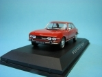 Peugeot 504 Coupe 1969 red 1:43 Norev